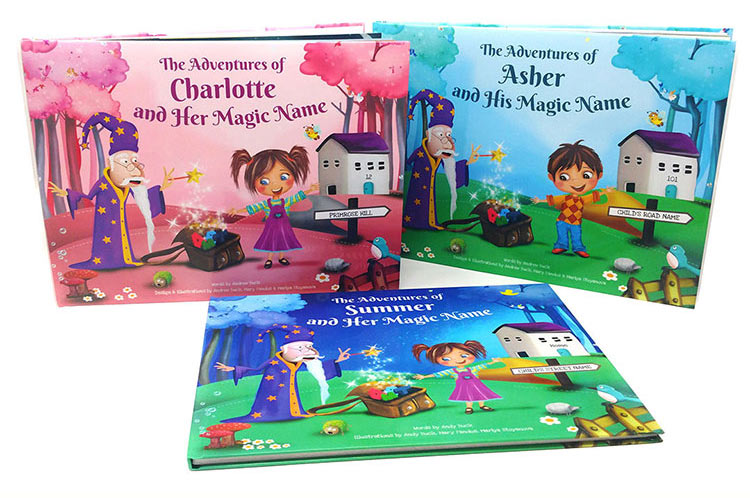 My Magic Name Personalised Childrens Book
