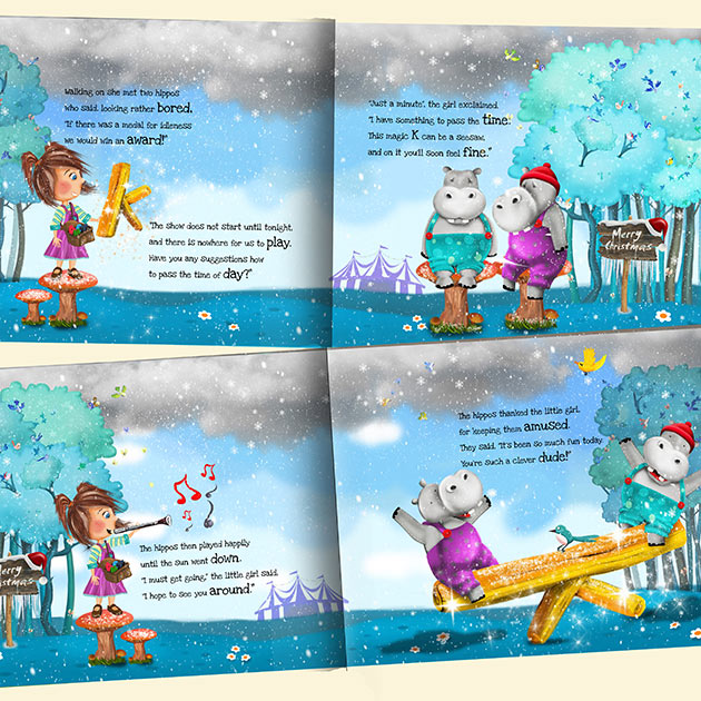personalised christmas story book for children featuring santa claus perfect for christmas or pre christmas gifts - Christmas Story For Toddlers